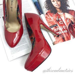 madden girl • Cherry Red High Heels